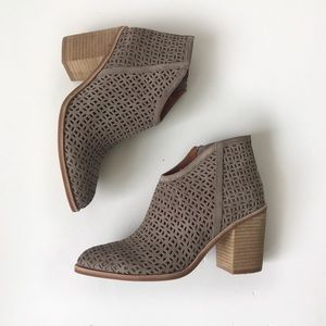 Jeffrey Campbell cutout ankle booties